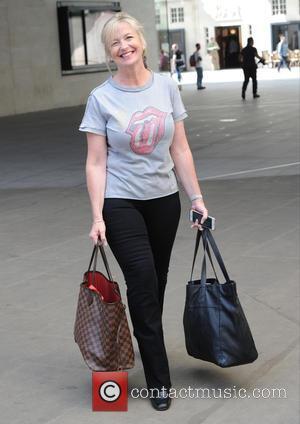 Carol Kirkwood - Carol Kirkwood leaving the BBC studios for 'Strictly Come Dancing' rehearsals at Strictly Come Dancing - London,...