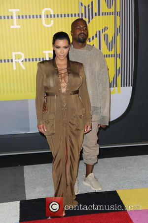 Kim Kardashian , Kanye West - 2015 MTV Video Music Awards (VMA's) at the Microsoft Theater - Arrivals at Microsoft...