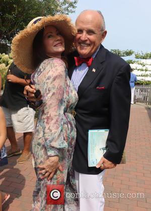 Judith Giuliani and Rudy Giuliani