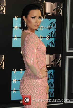 Demi Lovato - 2015 MTV Video Music Awards (VMA's) at the Microsoft Theater - Arrivals - Los Angeles, California, United...