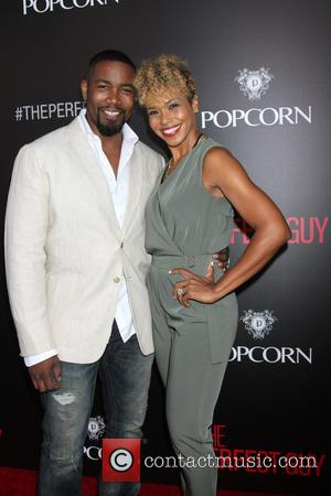 Michael Jai White and Corie White