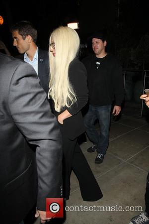 Lady Gaga - Lady Gaga dines at PUMP Restaurant Lounge in West Hollywood - Los Angeles, California, United States -...