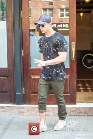 Nick Jonas - Nick Jonas leaving his hotel in Tribeca - NY, New York, United States - Tuesday 8th September...