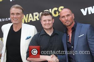 Dolph Lundgren , Luke Goss - Premiere of Cinedigm's 'War Pigs' at ArcLight Cinemas - Arrivals at ArcLight Cinemas -...