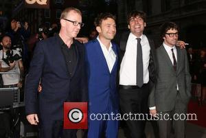 Blur, Damon Albarn, Graham Coxon, Alex James and Dave Rowntree