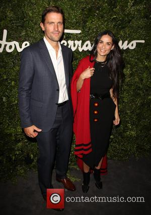 James Ferragamo and Demi Moore