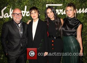 Eric Buterbaugh, Demi Moore, Tallulah Willis and Scout Willis