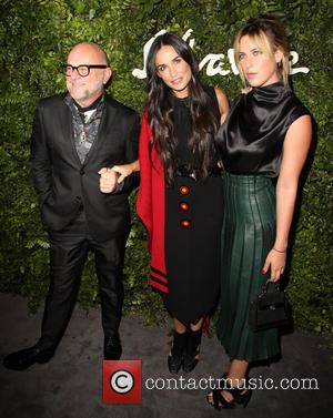Eric Buterbaugh, Demi Moore and Tallulah Willis