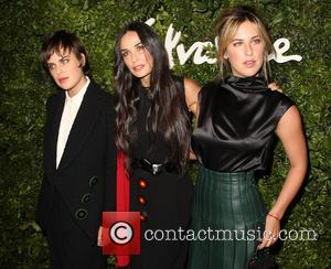 Tallulah Willis, Demi Moore and Scout Willis