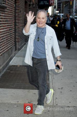 Paul Simon - Celebrities arrive at 'The Late Show with Stephen Colbert' at Ed Sullivan Theater, The Late Show -...