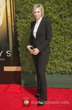 Jane Lynch - 2015 Creative Arts Emmy Awards at Microsoft Theater - Arrivals at Microsoft Theater, Emmy Awards - Los...
