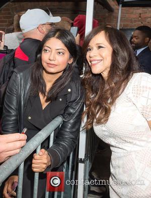 Rosie Perez - 2015 Toronto International Film Festival (TIFF) - Celebrity Sightings at STORYS - Toronto, Canada - Sunday 13th...