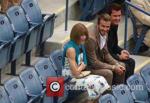 David Beckham, Anna Wintour and Simon Fuller