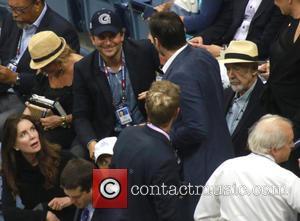 Bradley Cooper, Hugh Jackman, Deborra Lee Furness and Sir Sean Connery