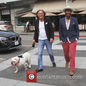 Eric Benet and Mohamed Hadid