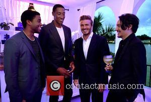 Scottie Pippen, David Beckham and Chadwick Boseman
