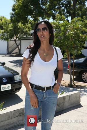 Padma Lakshmi - Padma Lakshmi arrives at Andy LeCompte Salon - Los Angeles, California, United States - Friday 18th September...