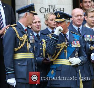 Prince Charles and Air Marshal Andrew Pulford