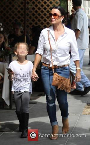 Kyle Richards , Portia Umansky - Kyle Richards takes her youngest daughter, Portia, who wore a 'You Can't Sit With...