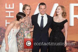 Kristen Wiig, Kate Mara, Matt Damon and Jessica Chastain