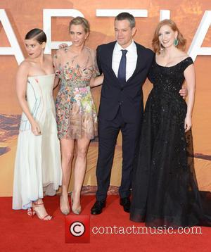 Matt Damon, Kristen Wiig, Jessica Chastain and Kate Mara