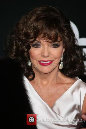 Joan Collins - The British Film Institute's LUMINOUS gala dinner held at Guildhall - Arrivals - London, United Kingdom -...