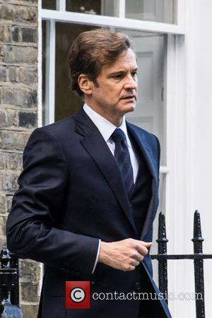 Colin Firth - Colin Firth is spotted Filming Bridget Jones in North London. - London, United Kingdom - Thursday 8th...