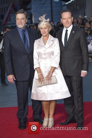 John Goodman, Dame Helen Mirren and Bryan Cranston