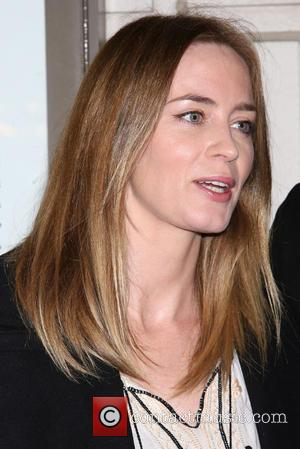 Emily Blunt - Opening night for Fool For Love at the Samuel J. Friedman Theatre - Arrivals. at Samuel J....