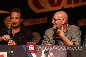 David Duchovny and Mitch Pileggi