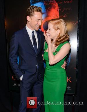 Jessica Chastain, Tom Hiddleston