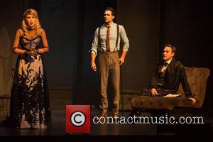 Renee Olstead, James Maslow and David Arquette