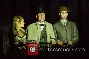 Renee Olstead, David Arquette and James Maslow