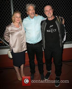 Patricia Arquette, Todd Morgan and David Arquette