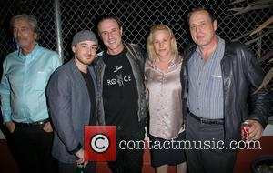 Todd Morgan, Guest, David Arquette, Patricia Arquette and Richmond Arquette