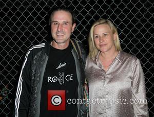 David Arquette and Patricia Arquette