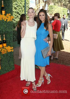 Jaime King , Nina Dobrev - 6th annual Veuve Clicquot Polo Classic at Will Rogers State Historic Park, Polo Field...