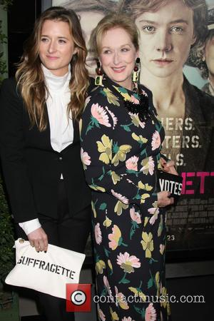 Grace Gummer and Meryl Streep