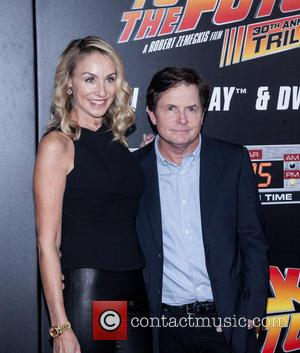 Amy Pollan and Michael J. Fox