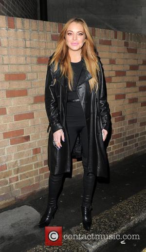 Lindsay Lohan - Celebrities leaving Sexy Fish restaurant in Mayfair - London, United Kingdom - Wednesday 21st October 2015