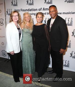 Ann Meier Baker, Wendy Oxenhorn, Guest and Ray Parker Jr.