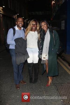 David Burke, Alexandra Burke and Sheneice Burke