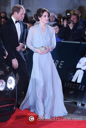 Duchess of Cambridge - James Bond Spectre World Premiere held at Royal Albert Hall - Arrivals at Royal Albert Hall...