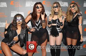 Little Mix Channel Kiss For Halloween Show