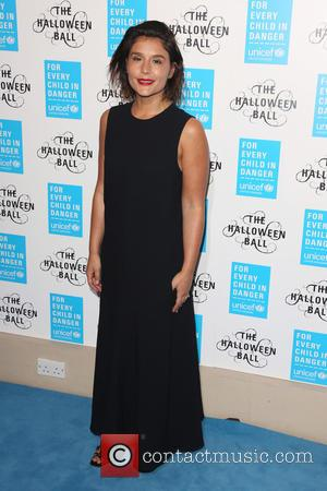 Jessie Ware - Unicef Halloween Ball 2015 held at One Marylebone - Arrivals - London, United Kingdom - Thursday 29th...