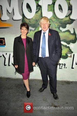 Anna Kennedy Obe and Boris Johnson