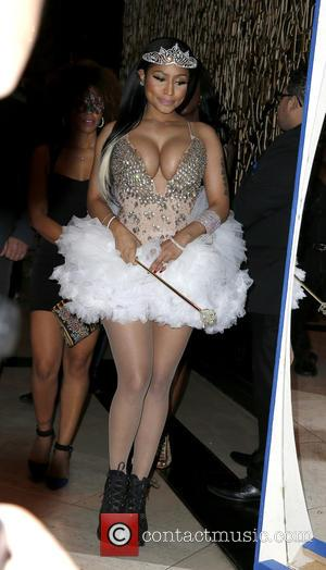Nicki Minaj - 1 Oak Nightclub hosts Fun-Oak Halloween Soiree with special guest Nicki Minaj at The Mirage Hotel and...