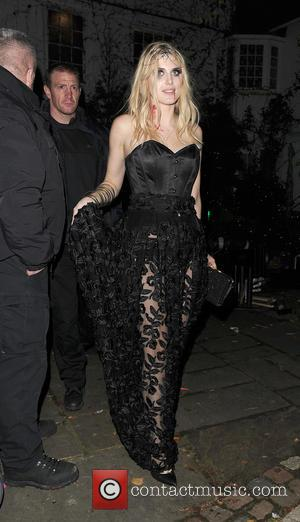 Ashley James - Celebrities attend the annual Jonathan Ross Halloween Party, held at his home in Hampstead - London, United...