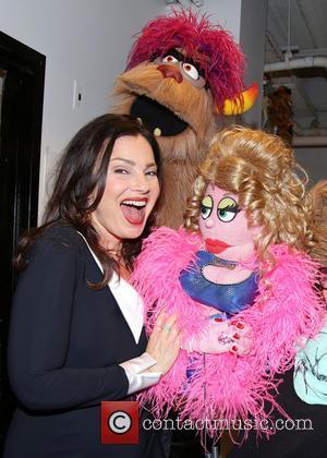 Fran Drescher, Trekkie Monster and Lucy The Slut