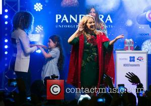 Kylie Minogue Launches Christmas In London